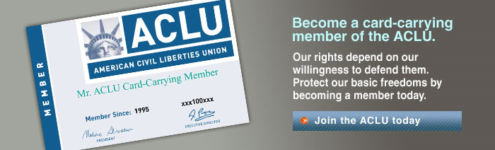 join the ACLU