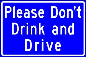 Illinois drunk driving memorial sign